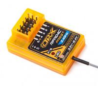 4 canales receptor compatible FASST (diseño especial para el coche y la boa)