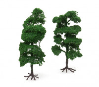 HobbyKing™ 160mm Scenic Wire Model Trees with Roots (2 pcs)