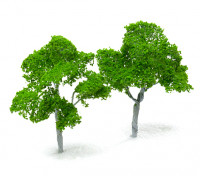 HobbyKing™ 100mm Scenic Wire Model Trees (2 pcs)