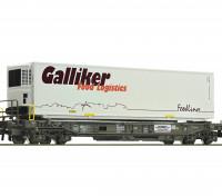 Roco/Fleischmann HO Scale Single Standard Pocket Wagon SBB (Galliker Food Logistics)