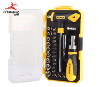 29pc Screwdriver and Socket Set with Compact Carry Case