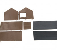 Micro Engineering HO Scale Small Shed Kit (70-605)
