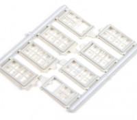 Micro Engineering HO Scale 8 Pane Windows (80-067)