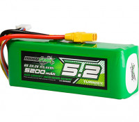Multistar High Capacity 5200mAh 6S 12C Multi-Rotor Lipo Pack w/XT90