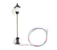 1/100 Scale Working Classic Ornate 4 Sided Single Street Lantern 1pc