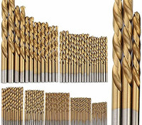 99pc Titanium Coated HSS Drill Set (1.5-10mm) 1