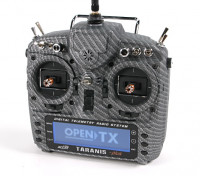 FrSky 2.4GHz ACCST TARANIS X9D PLUS Special Edition (M2) (International) (Carbon Fiber) (US Plug) top