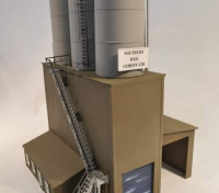 Southern Rail HO Scale Cement Works