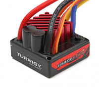 TrackStar 1 / 10º sin escobillas sin sensores 80A resistente al agua ESC V2