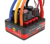 TrackStar 1 / 8th sin escobillas sin sensores 120A resistente al agua ESC V2