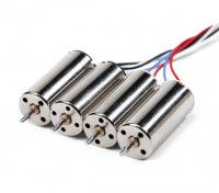 Mini Quad cepillado Motors 8.5x20mm (4pcs)