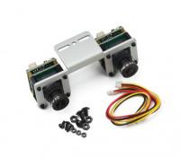 Sistema de cámara CCD de Sony 3D
