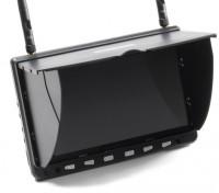 7 pulgadas de alta definición 5.8GHz 40CH Diversidad monitor LCD w / DVR, HDMI SkyZone HD02