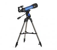 Telescopio Altacimutal, observar las estrellas y la observación terrestre.