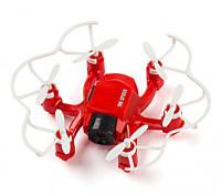 SPIDER MINI ABEJÓN 4CH girocompás del eje 6 Hexacopter 3D FLY RC con 2MP la cámara de HD (Rojo)