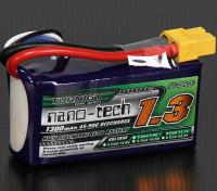 Turnigy nano-tech 1300mAh 3S 45 ~ 90C Lipo Pack de
