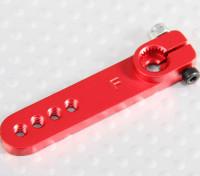 Pesado de la aleación 1.25in brazo de Servo - Futaba (rojo)