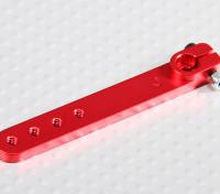 Heavy Duty 2 pulgadas de aleación de brazo de Servo - JR (rojo)