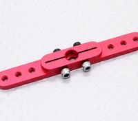 Deber pesada de 2,5 pulgadas de aleación de Pull-Tire brazo de Servo - JR (rojo)