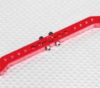 Deber pesada 4.2in aleación de Pull-Tire brazo de Servo - JR (rojo)