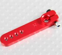 Pesado de la aleación 1.25in brazo de Servo - Hitec (rojo)