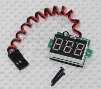 Indicador de voltaje LED RX de Lipo y duración de la batería