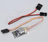 Bajo G 3 ejes G-Force de MicroSensor