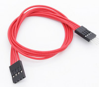 250 mm 4 pines cable de extensión para LED RGB de múltiples funciones del controlador / Controller