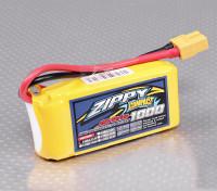 ZIPPY Compacto 1000mAh 3S Lipo 25C Paquete