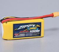 ZIPPY Compacto 1000mAh 3S Lipo 35C Paquete