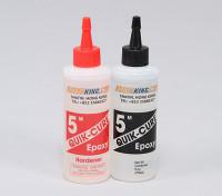 Quick-Cure 5 Min epoxy pegamento 9. oz
