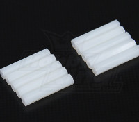 5,6 mm x 30 mm M3 de nylon roscado espaciador (10pc)