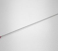 La varilla de empuje / rotula para Sprint F3 fibra de vidrio del casco del túnel sin escobillas barco que compite con w / Motor (630 mm)