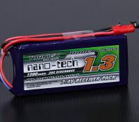 Turnigy nano-tech 1300mAh 2S1P 20 ~ 40C Lipo Receptor Paquete