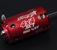 Turnigy TrackStar SCT 4.5T Sensored 4550KV motor sin escobillas (550 tamaño)