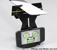 Flybarless Helicopter Pitch manómetro para su uso w / Smartphone