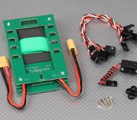 Turnigy distribuidor de energía Min Eco (verde)
