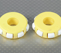 41x14mm Plástico Omni Wheel (2pcs / bag)