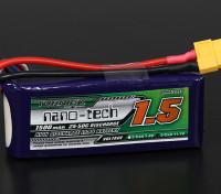 Turnigy nano-tech 1500mah 3S 25 ~ 50C Lipo Pack de
