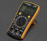 Turnigy 870E multímetro digital w / Pantalla retroiluminada