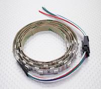 LED rojo, verde y azul (RGB) de Gaza 1M w / Flying Lead