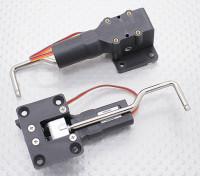 Servoless retracción con Metal Trunion para pequeños modelos de 32 mm x 25 mm Montaje (2pcs)