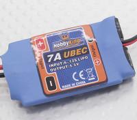 Entrada Hobbyking 7A 5.5V Alta Tensión UBEC (23 ~ 45V)