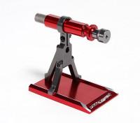 TrackStar 1/16 al 1/8 de la aleación de aluminio CNC Equilibrio del rotor soporte