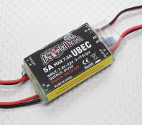 El Dr. Mad serie de empuje 5A HV BEC incorporado con Aux con control de encendido / apagado para Accs