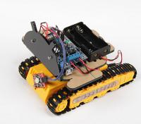Kingduino Kit Bluetooth del teléfono móvil del robot oruga