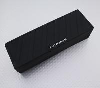 Turnigy suave de silicona protector de la batería de Lipo (3600-5000mAh 5S Negro) 155x52x38.5mm