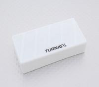 Turnigy suave de silicona protector de la batería de Lipo (3S 1000-1300mAh blanco) 74x36x21mm