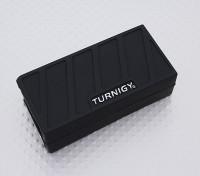 Turnigy suave de silicona protector de la batería de Lipo (3S 1000-1300mAh Negro) 74x36x21mm