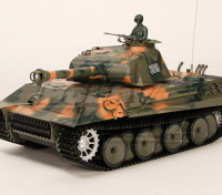 Alemán Panther tanque RC RTR w / Airsoft y Tx